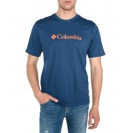 CSC Basic Logo™ Triko Columbia | Modrá | Pánské | S