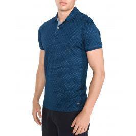 Indigo Polo triko Jack & Jones   Modrá   Pánské   XXL