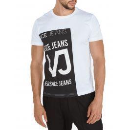 Triko Versace Jeans | Černá Bílá | Pánské | XXL