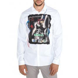 Košile Just Cavalli | Bílá | Pánské | M