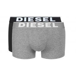 Boxerky 2 ks Diesel | Černá Šedá | Pánské | XXL