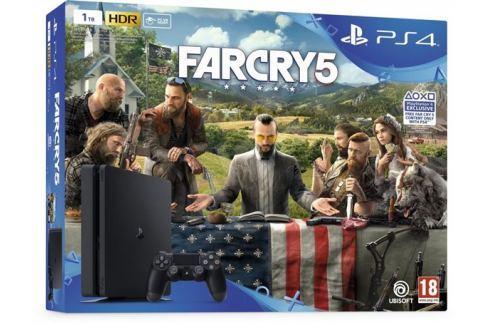 Sony PlayStation 4 Slim - 1TB + Far Cry 5 Hry na PlayStation 4