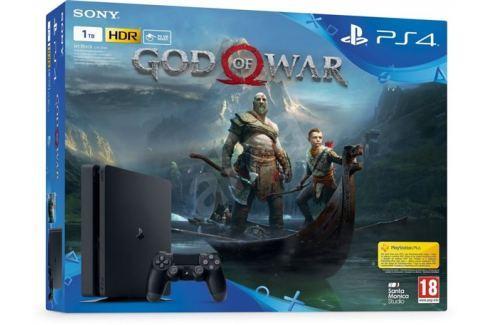 Sony PlayStation 4 Slim - 1TB + God of War Hry na PlayStation 4