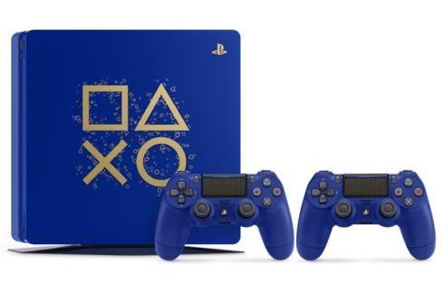 Sony Herní konzole  PlayStation 4 SLIM 500GB + DS4 limitovaná edice Days of Play Hry na PlayStation 4