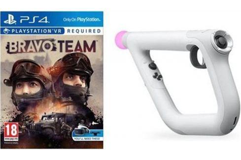 Sony PS4 hra Bravo Team VR + Aim Controller Hry na PlayStation 4