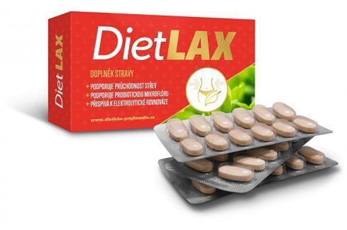 Clinex DietLAX 36 tbl. Doplňky stravy při hubnutí
