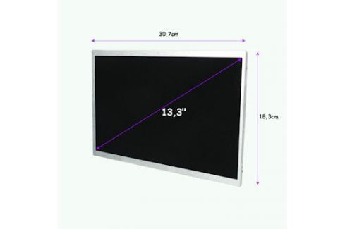 Qoltec LED displej 13.3'' 1366*768 GLOSSY - 40Pin, GRADE A+ Příslušenství k notebookům