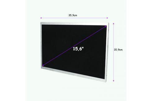 Qoltec LED displej 15.6'' 1366*768 GLOSSY - 40Pin, GRADE A+ Příslušenství k notebookům