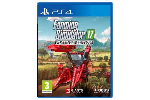 Focus Home Interactive PS4 - Farming Simulator 17 - Platinum Edition Hry na PlayStation 4