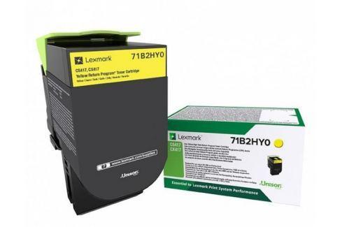 Lexmark CS/CX41/51x Yellow Toner Cartridge High Return - 3 500 stran Náplně a tonery - originální