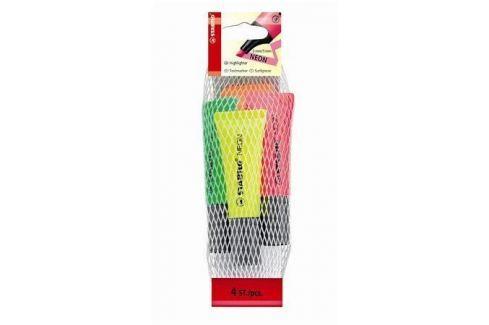 STABILO Zvýrazňovač Neon, 4 barvy, 2-5 mm, Produkty