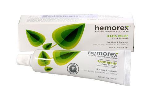 Hemorex Přírodní krém na hemoroidy v tubě 28,3 g Produkty