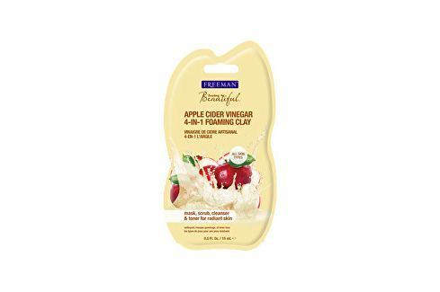 Freeman Multifunkční pleťová maska s jablečným octem (Apple Cider Vinegar 4-in-1 Foaming Clay) 175 Pleťové krémy