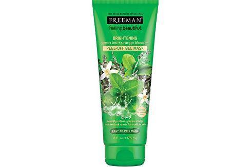 Freeman Slupovací gelová maska Zelený čaj & Pomerančový květ Feeling Beautiful (Peel Off Gel Mask) 1 Přípravky pro péči o krk a dekolt