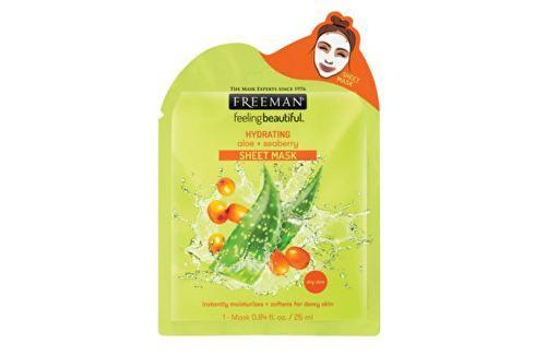 Freeman Hydratační látková maska Aloe vera a rakytník (Hydrating Sheet Mask) 25 ml Pleťové krémy
