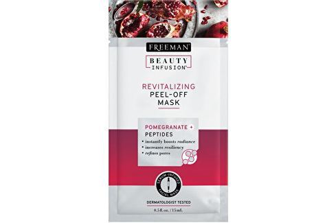Freeman Revitalizační slupovací maska Granátové jablko a peptidy Beauty Infusion (Revitalizing Peel- Přípravky pro péči o krk a dekolt