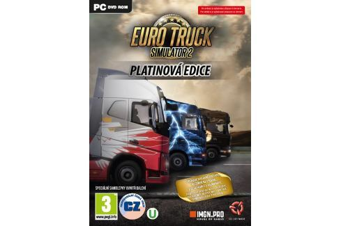 COMGAD Euro Truck Simulator 2: Platinová edice simulátory
