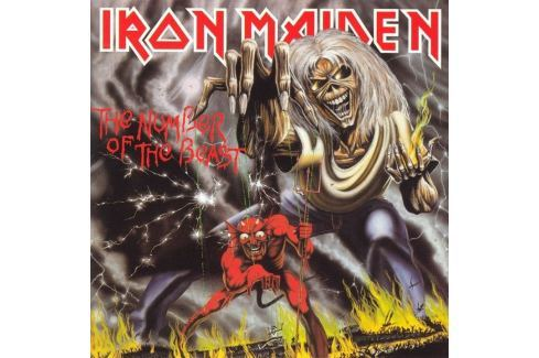 CD Iron Maiden : The Number Of The Beast Hudba