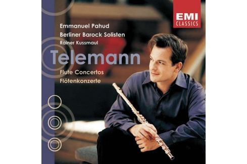 CD Telemann - Pahud / Flute Concertos Hudba