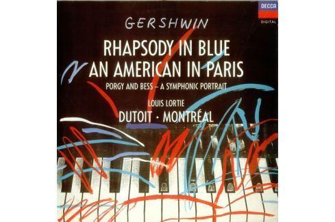 CD George Gershwin : Rhapsody In Blue/An Ameri Hudba