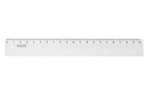 KOH-I-NOOR Pravítko, plastové, 20 cm, Sady školních pomůcek