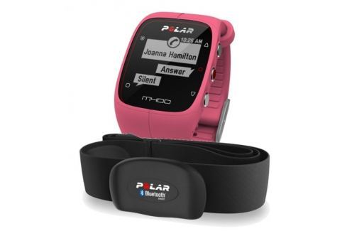 Polar M400 Pink HR Sporttestery a computery