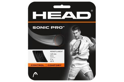 Head Tenisový výplet  Sonic Pro Black 1.30 mm (12 m), 1,30 mm Doplňky pro hráče