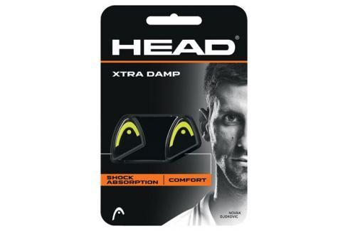 Head Vibrastop  Xtra Damp Black/Yellow (2ks) Doplňky pro hráče