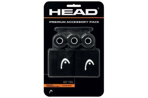 Head Sada doplňků  Premium Accessory Pack Black Squashové doplňky