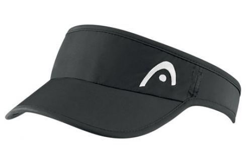 Head Kšilt  Pro Player Womens Visor Black Oblečení