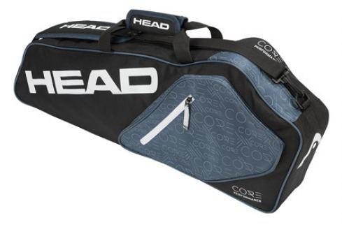 Head Taška na rakety  Core Pro 3R Anthracite Squashové tašky