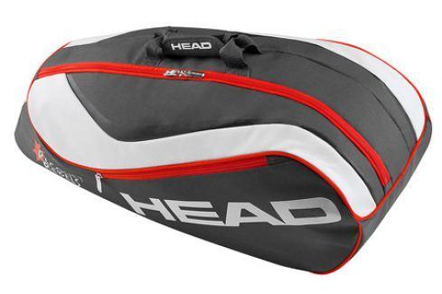 Head Juniorská taška na rakety  Junior Combi Novak Squashové tašky