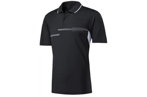 Head Pánské tričko  Club Technical Polo Black, S Oblečení