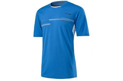 Head Pánské tričko  Club Technical Blue, M Oblečení