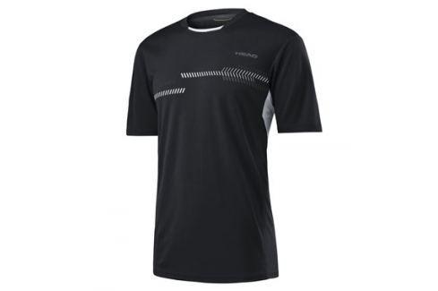 Head Dětské tričko  Club Technical Black, 140 cm Oblečení
