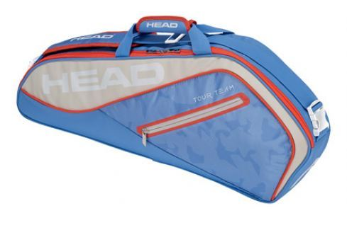Head Taška na rakety  Tour Team Pro 3R Light Blue Squashové tašky