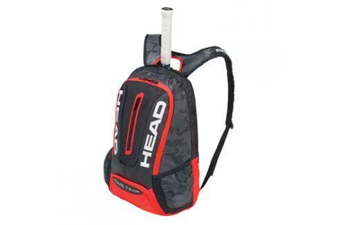 Head Batoh na rakety  Tour Team Backpack Black/Red Squashové tašky