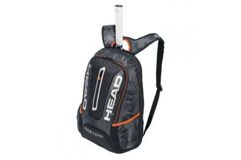 Head Batoh na rakety  Tour Team Backpack Black/Silver Squashové tašky