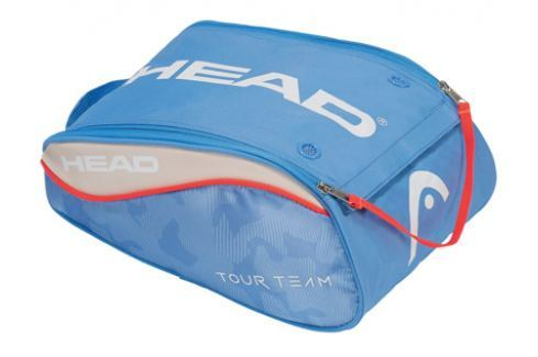 Head Taška na obuv  Tour Team Shoe Bag Light Blue Squashové tašky