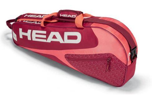 Head Taška na rakety  Elite Pro 3R Red/Pink Squashové tašky