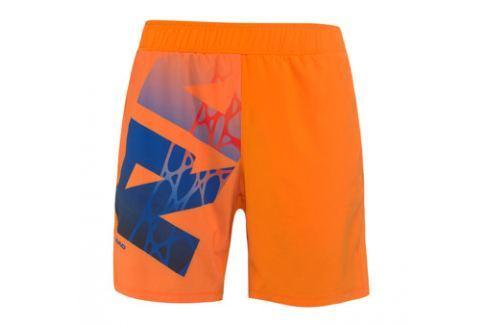 Head Pánské šortky  Radical Orange, M Oblečení