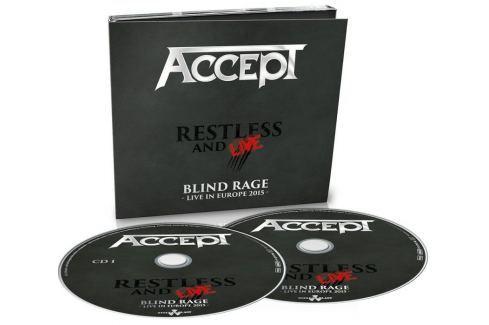 CD Accept : Restless And Live 2 Hudba
