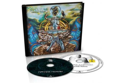 DVD Sepultura : Machine Messiah (Digibook) CD+ Hudba