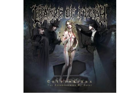 CD Cradle of Filth : Cryptoriana - The Seductiveness of Decay Hudba