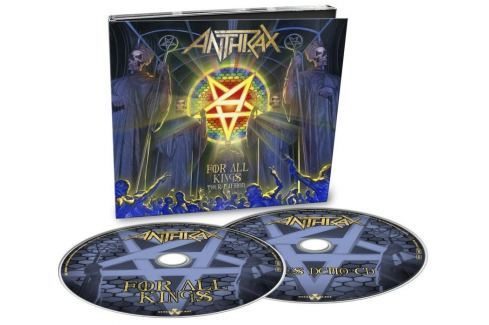 CD Anthrax : For All Kings (Tour Edition) 2 Hudba
