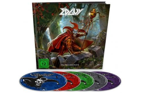 CD Edguy : Monuments (Earbook) Hudba
