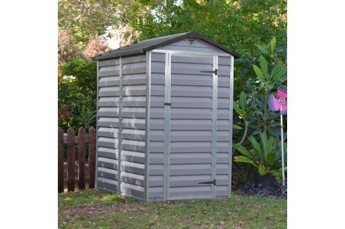 Palram Skylight 4x6 šedý zahradní domek Zahradní altány