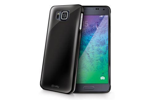 Celly Kryt na mobil  Gelskin pro Samsung Galaxy Alpha, kouřově černý Pouzdra, kryty a fólie