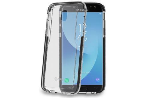 Celly Kryt na mobil  Hexagon pro Samsung Galaxy J5 (2017) - černý Pouzdra, kryty a fólie