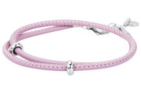 Brosway Růžový kožený náramek Bracciale BBR16 Náramky